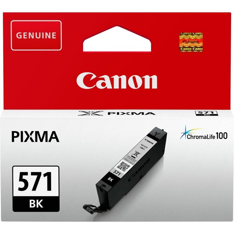 Tinta Canon 571 Negro CLI-571BK