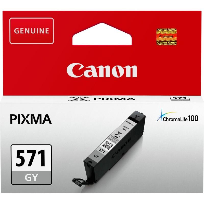 Tinta Canon 571 Gris CLI-571GY