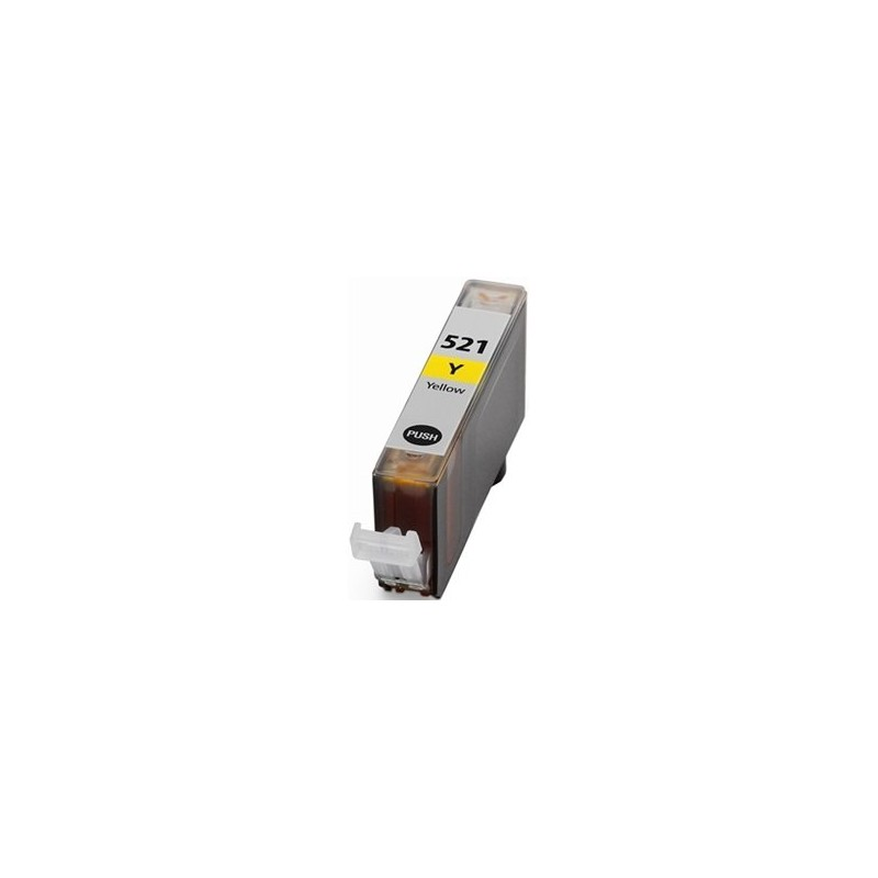 Canon 521 Yellow Ink Compatible