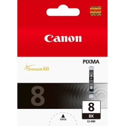 Tinta Canon 8 Negro CLI-8BK