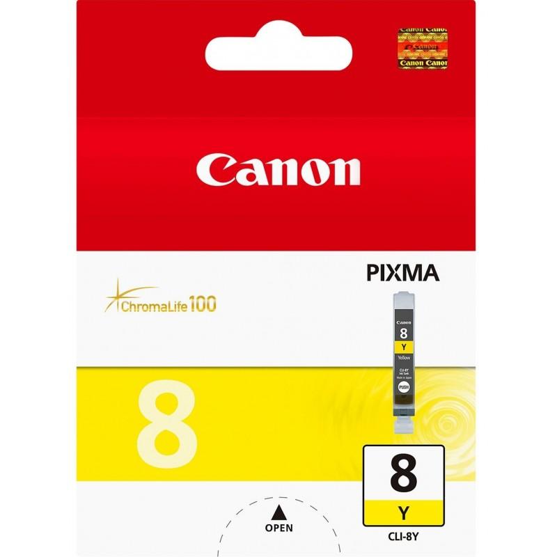 Tinta Canon CLI-8Y Amarillo