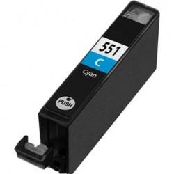 Tinta Compatible Canon 551XL Cian