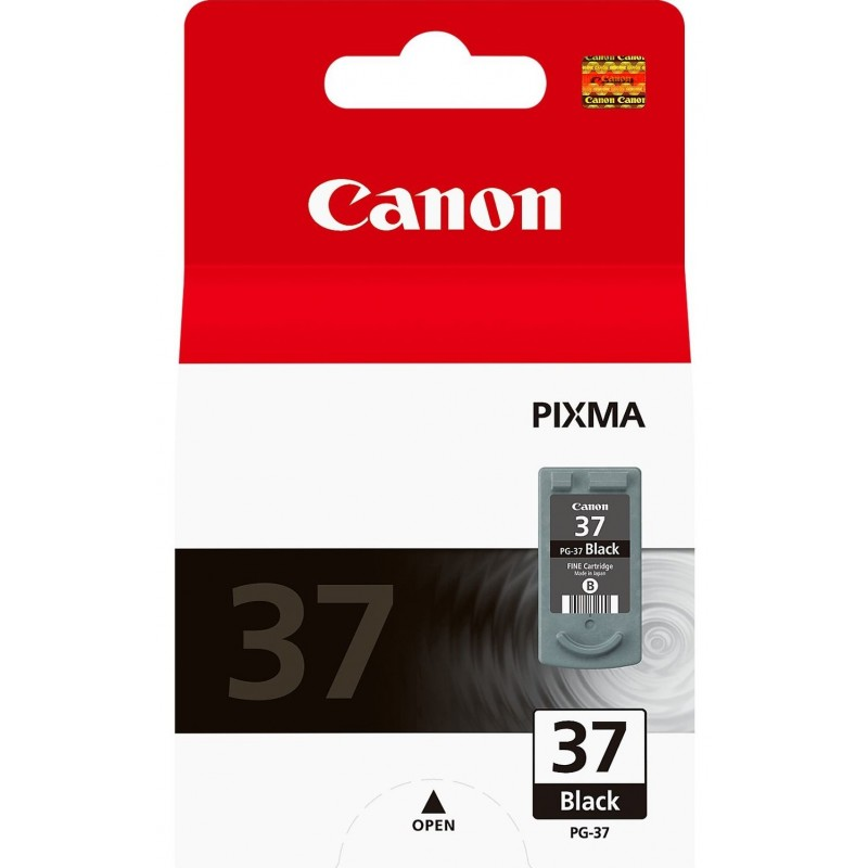 Tinta Canon 37 Negro PG-37BK