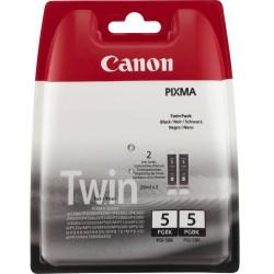 Tinta Canon 5 Negro PGI-5BK Twin Pack x2