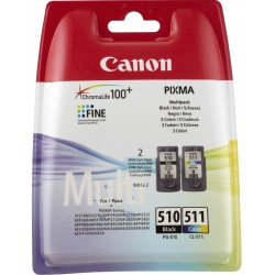 Ink Canon 510 + 511 Multipack PG-510 / CL-511