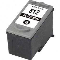 Canon 512 Black Ink Compatible