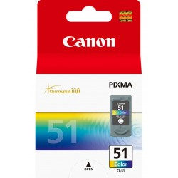 51 Color Ink Canon CL-51C / M / Y
