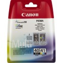 Tinta Canon 40+41 Multipack PG-40/CL-41