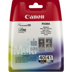 Ink Canon 40 + 41 Multipack PG-40 / CL-41