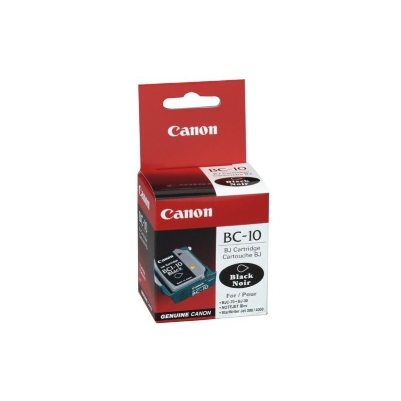 10 Black Ink Canon BC-10