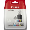 551 Multipack Ink Canon CLI-551BK / C / M / Y