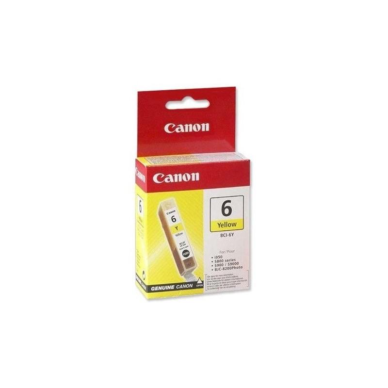 Ink Canon BCI-6Y 6 Amarillo