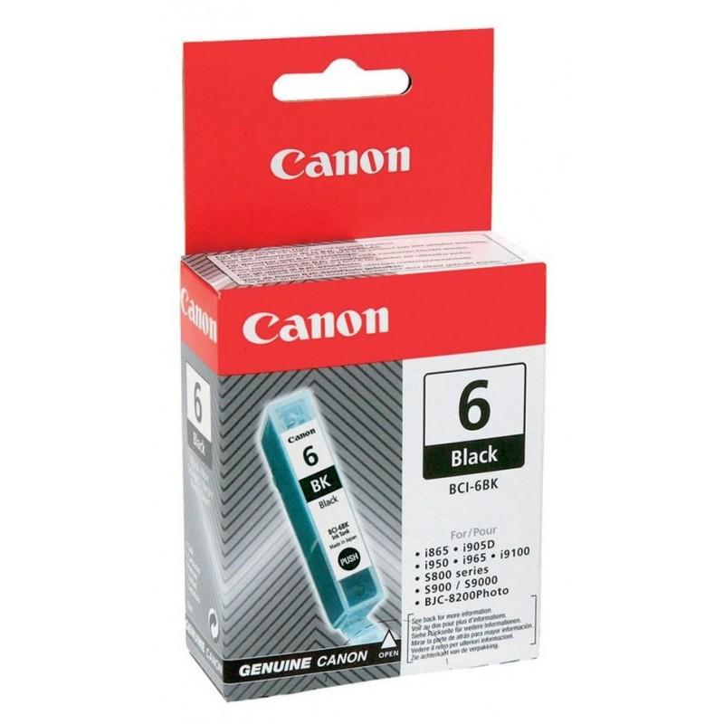 6 Black Ink Canon BCI-6BK