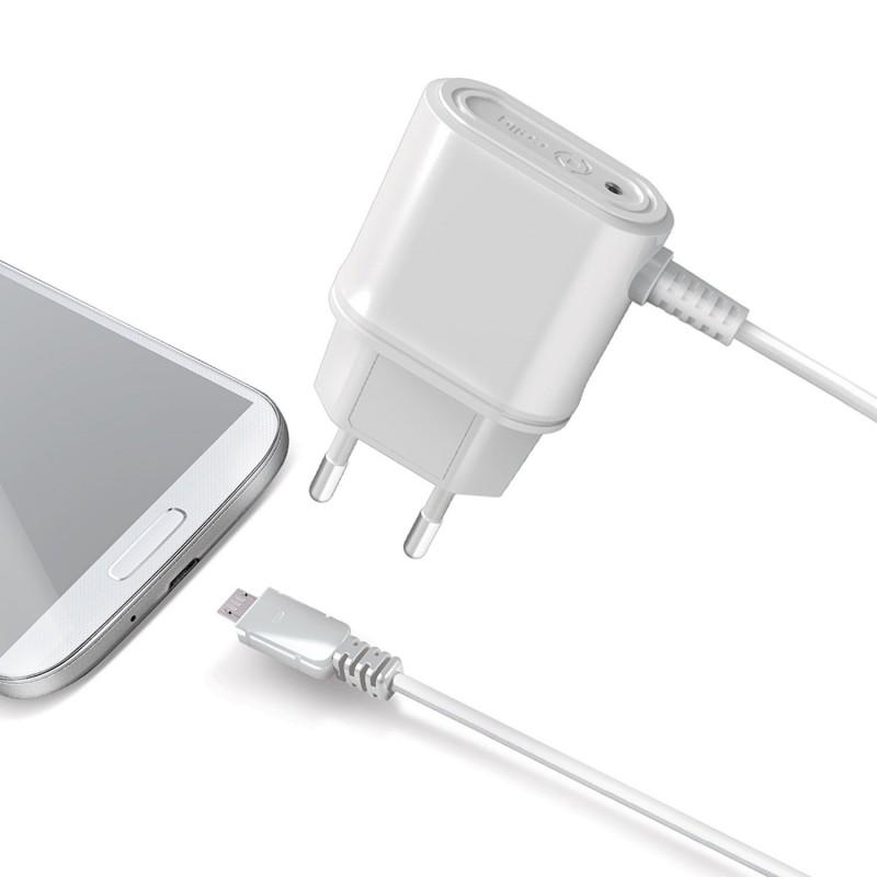 Cargador Micro USB Celly Blanco 1A