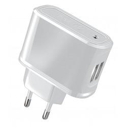 Cargador USB Celly 2.1A x2