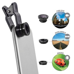 Lentes para Smartphone Celly Clip&Click