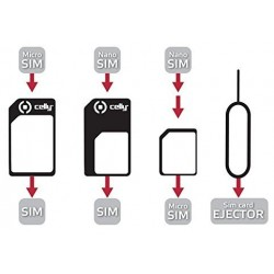 Adaptador Universal de Tarjeta SIM Celly