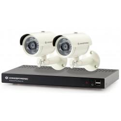 Kit de Vigilancia Conceptronic 8 Canales 1600