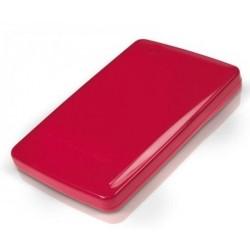 "Caja USB Disco 2,5"" SATA Conceptronic Rojo"