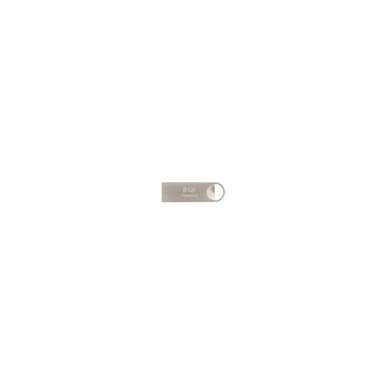 Memoria USB de 8GB Toshiba U401 Plata