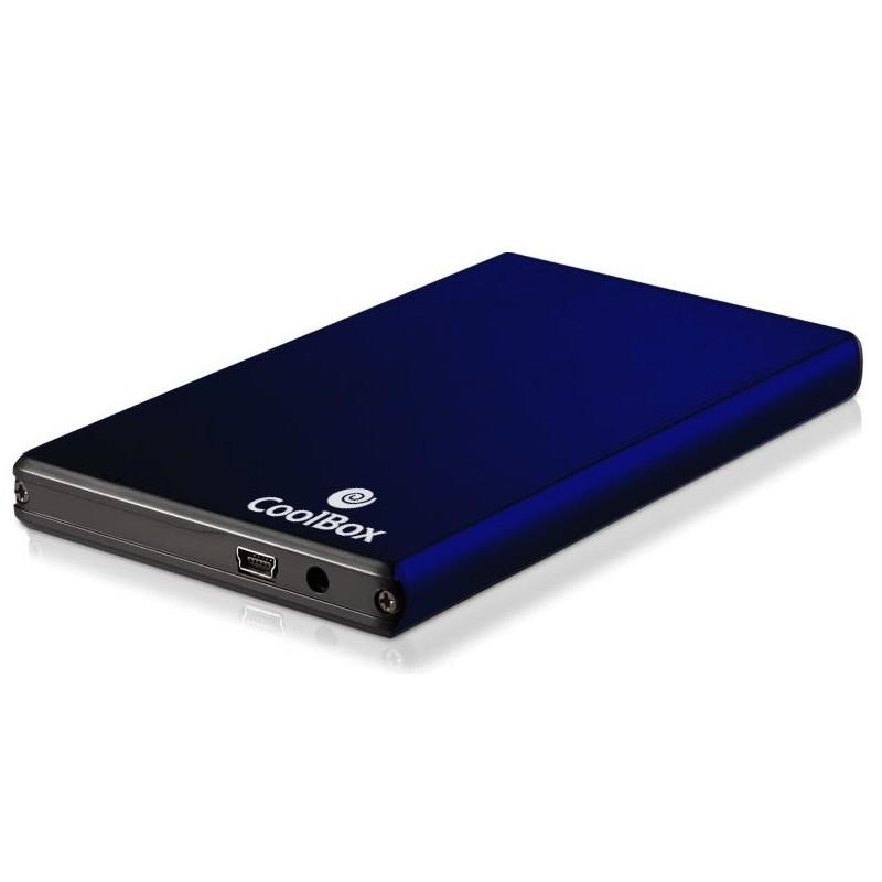 "Caja USB Disco 2,5"" SATA Coolbox 2520 Azul"