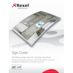 Signage Case for Rexel A5 Adhesive