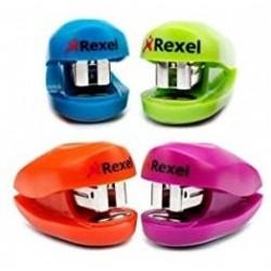 Minigrapadora Rexel Buddy Colores Surtidos