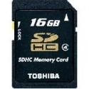 Toshiba Memoria Sd 16Gb Clase 4
