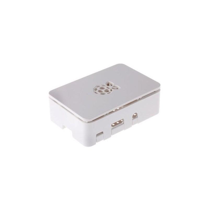 Carcasa para Raspberry Pi 3 Blanca
