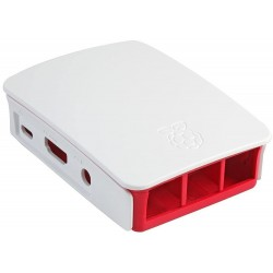 Carcasa para Raspberry Pi 3 Blanca y Roja
