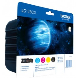 Tinta Brother LC1280XL Pack de los 4 Colores