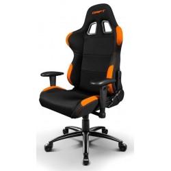 Silla Gaming Drift DR100 Negra y Naranja