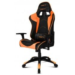 Silla Gaming Drift DR300 Negra y Naranja