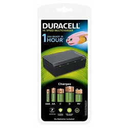 Cargador de Pilas Duracell Hi-Speed Multi