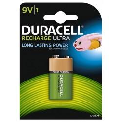 Pila Recargable 9V Duracell