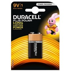 Pila 9V Duracell Plus Power