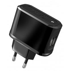 Cargador USB Celly 2.1A x2 Negro