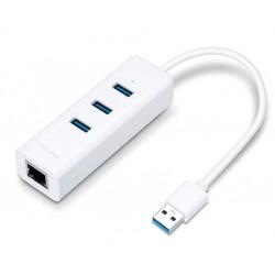 Adaptador USB 3.0 a RJ45 Gigabit Tp-Link + Hub USB 3.0