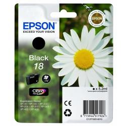 Tinta Epson 18 Negro T1801