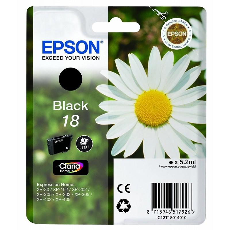 Epson T1801 Black Ink 18