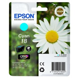 Epson Ink 18 Cyan T1802