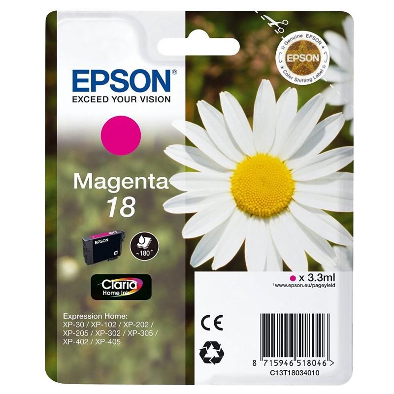 Tinta Epson 18 Magenta T1803