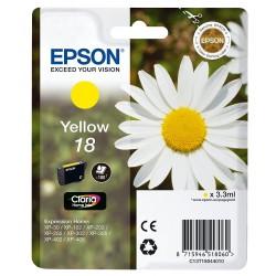 Tinta Epson 18 Amarillo T1804