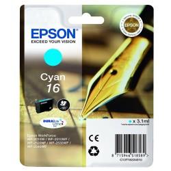 Tinta Epson 16 Cian T1622