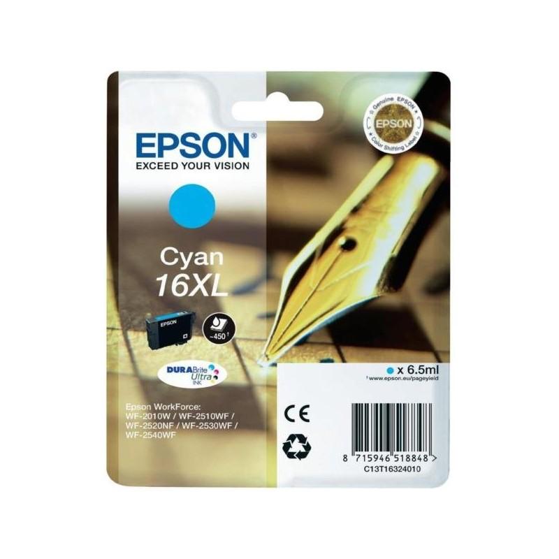 Tinta Epson 16XL Cian T1632