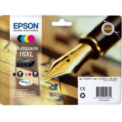 Epson 16XL Ink Pack 4 Colors T1636