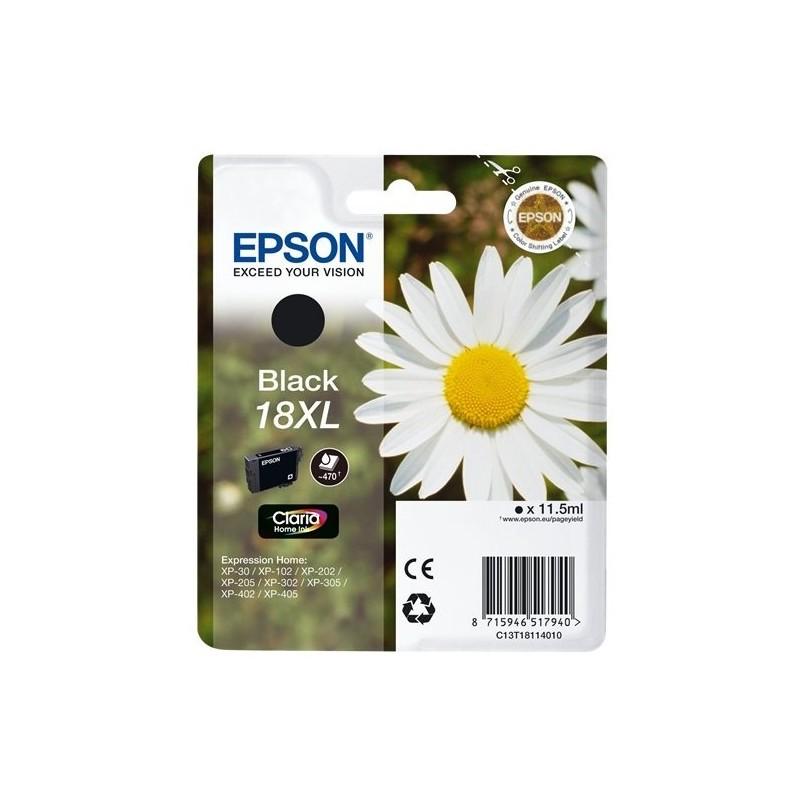 Tinta Epson 18XL Negro T1811