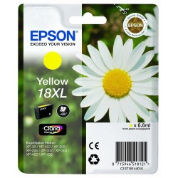 Tinta Epson 18XL Amarillo T1814