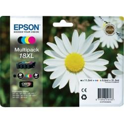 Tinta Epson 18XL Pack de los 4 Colores T1816