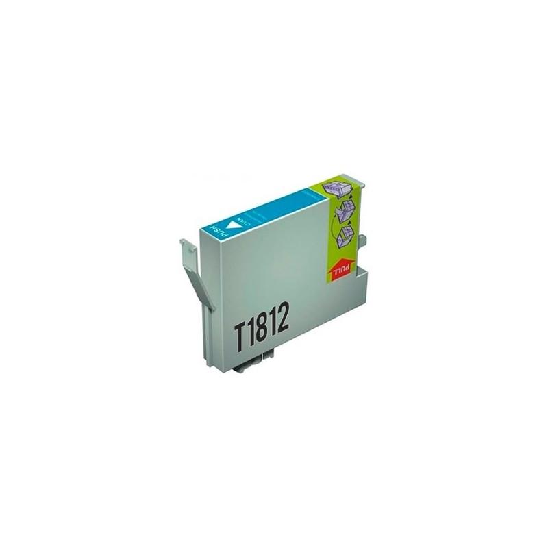 Tinta Compatible Epson 18XL Cian T1812
